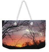 January Sunrise 5 Weekender Tote Bag