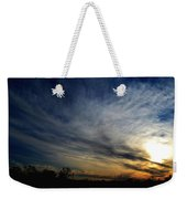 January Sunset 2012 Weekender Tote Bag