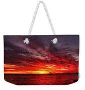 January Sunset Weekender Tote Bag