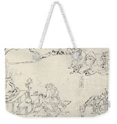 Japan: Animals As Humans Weekender Tote Bag