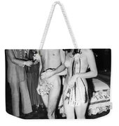 Japan: Nude Wedding, 1970 Weekender Tote Bag