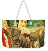 Japan Steamship Poster  1914 Weekender Tote Bag