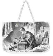 Japan: Wood Engraver Weekender Tote Bag