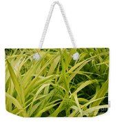 Japanese Forest Grass Weekender Tote Bag