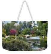 Japanese Garden Panorama 1 Weekender Tote Bag
