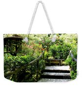 Japanese Garden Retreat Weekender Tote Bag