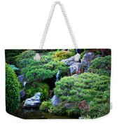 Japanese Garden With Pagoda And Pond Weekender Tote Bag