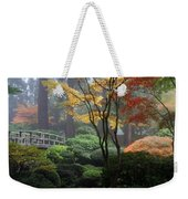 Japanese Gardens Fall Weekender Tote Bag