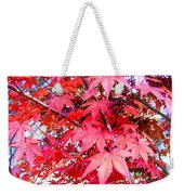 Japanese Maple Leaves 11 In The Fall Weekender Tote Bag