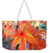 Japanese Maple Leaves 13 In The Fall Weekender Tote Bag