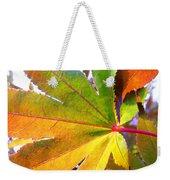 Japanese Maple Leaves 7 In The Fall Weekender Tote Bag