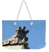 Japanese Rooftop Weekender Tote Bag