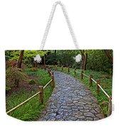 Japanese Tea Garden Path Weekender Tote Bag