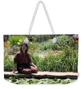 Japanese Woman Weekender Tote Bag