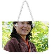 Japanese Women Weekender Tote Bag