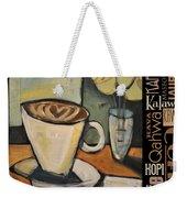 Java Coffee Languages Poster Weekender Tote Bag