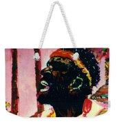Jazz Musician Weekender Tote Bag