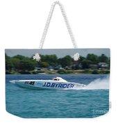 J.d. Byrider Offshore Racing Weekender Tote Bag
