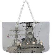 Jds Shimakaze Sails In Formation Weekender Tote Bag