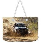 Jeep In The Mud Weekender Tote Bag