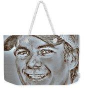 Jeff Gordon In 2010 Weekender Tote Bag by J McCombie