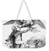 Jefferson: Cartoon, 1800 Weekender Tote Bag by Granger