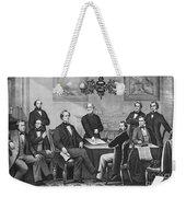 Jefferson Davis, Cabinet Weekender Tote Bag by Photo Researchers