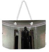 Jefferson In The Dark Weekender Tote Bag