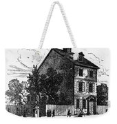Jeffersons House, 1776 Weekender Tote Bag