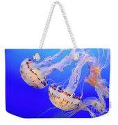 Jellyfish 3 Weekender Tote Bag