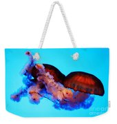 Jellyfish Drama - Digital Art Weekender Tote Bag