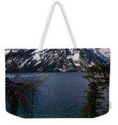 Jenny Lake In The Grand Teton Area Weekender Tote Bag