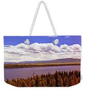 Jenny Lake Panorama Weekender Tote Bag