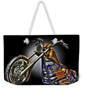 Jesse James Bike Detroit Mi Weekender Tote Bag