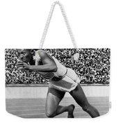 Jesse Owens (1913-1980) Weekender Tote Bag by Granger