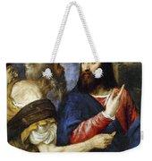 Jesus & Tribute Money Weekender Tote Bag