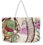Jesus And Serpent Weekender Tote Bag
