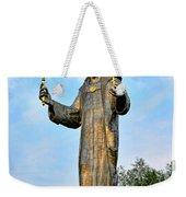 Jesus Christ Statue Weekender Tote Bag