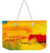 Jesus Christ The Holy One Weekender Tote Bag by Mark Lawrence