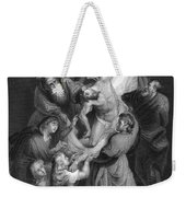Jesus: Deposition Weekender Tote Bag