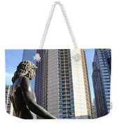 Jesus Of Philadelphia Weekender Tote Bag