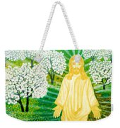 Jesus On Mount Thabor Weekender Tote Bag