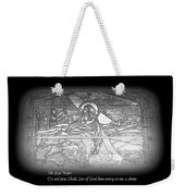 Jesus Prayer Weekender Tote Bag