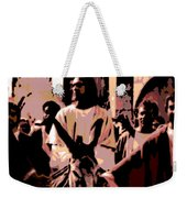 Jesus Rides Into Jerusalem Weekender Tote Bag