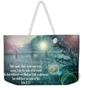 Jesus The Light Of The World Weekender Tote Bag