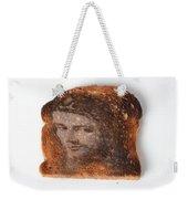 Jesus Toast Weekender Tote Bag by Photo Researchers, Inc.