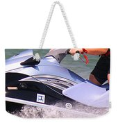 Jet Ski Speed Weekender Tote Bag