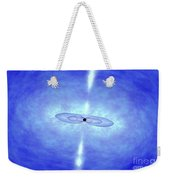 Jets Formed During A Grb Event Weekender Tote Bag by NASA / Science Source
