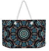 Jeweled Turquoise Weekender Tote Bag