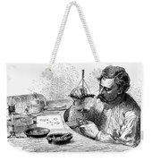 Jeweler, 19th Century Weekender Tote Bag
